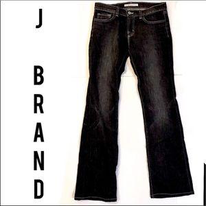 J Brand black bootcut jeans sz 28